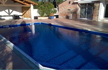 R novation ou remplacement du liner de votre bassin toulouse for Pose liner piscine bois