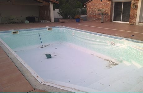 R novation ou remplacement du liner de votre bassin toulouse for Renovation liner piscine