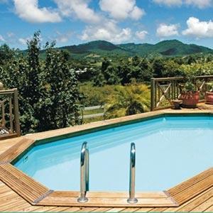 Piscines bois toulouse pr sentation des mod les de for Construction piscine toulouse